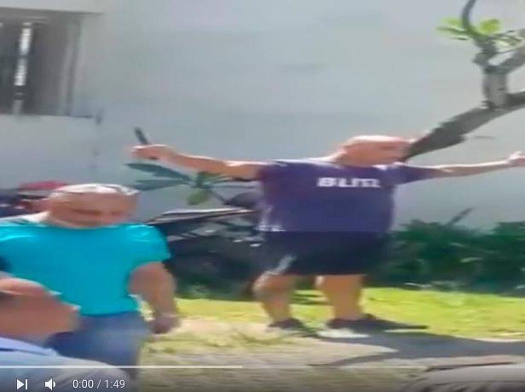 Bule Prancis Bawa Pisau Sambil Tantang Polisi: Shoot Me, Shoot me!