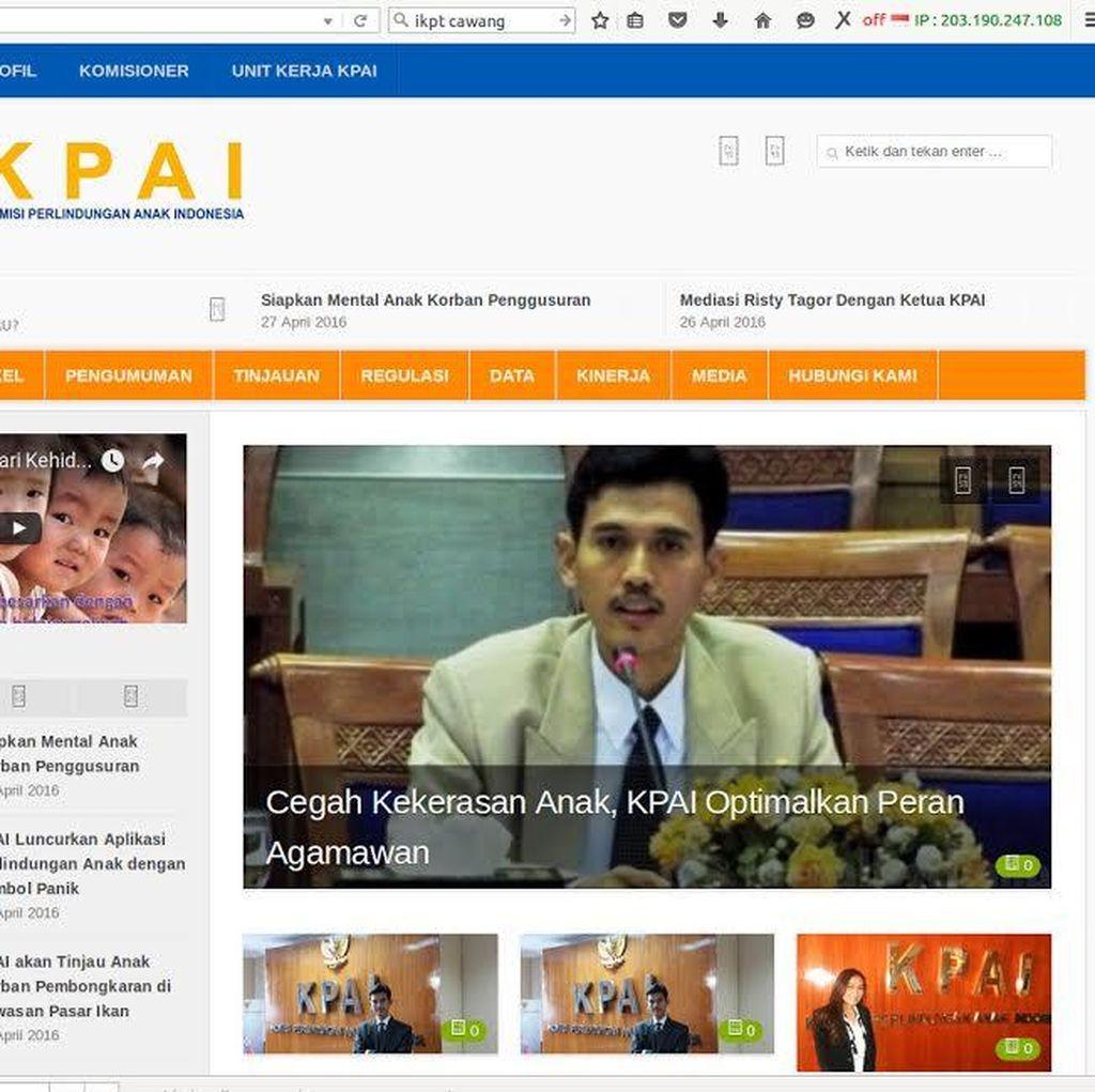 Peretasan Situs KPAI, Ancaman terhadap Perlindungan Anak
