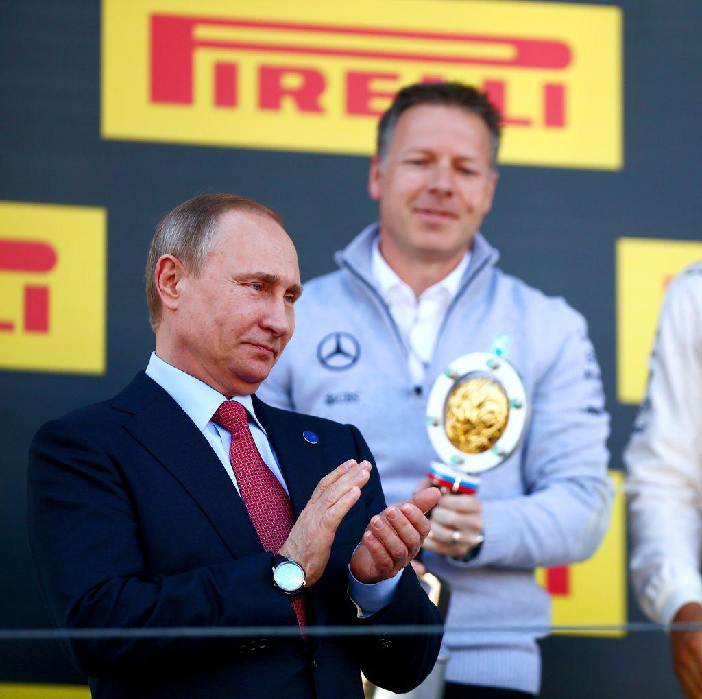 Vladimir Putin Kembali Tak Lewatkan GP Rusia