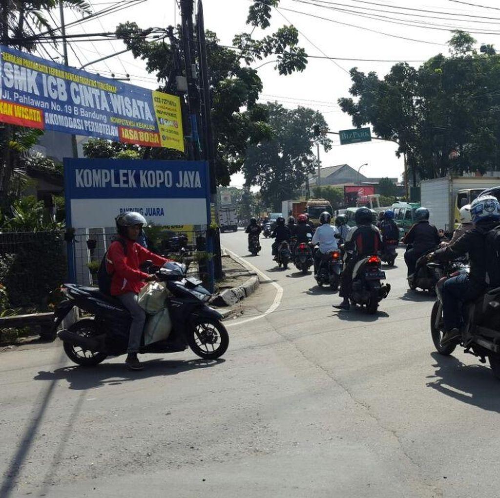 Pemkot Bandung Tata Kawasan Kopo, Trotoar Dibuat Seperti Jalan Riau