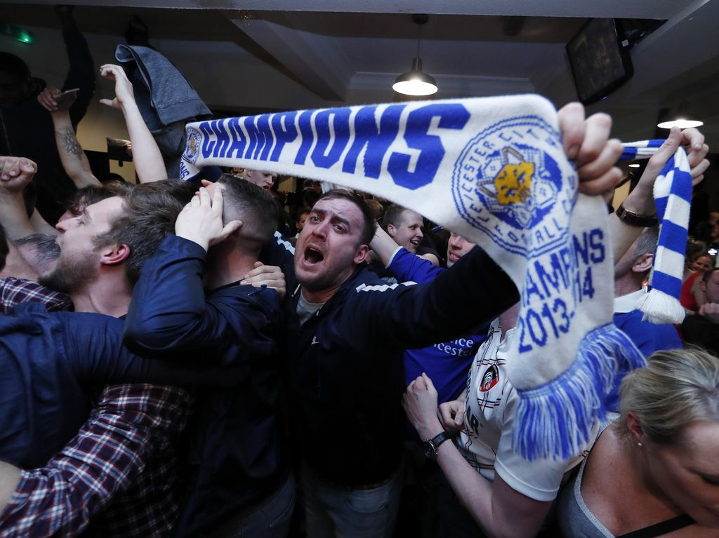 Angka-Angka di Balik Gelar Juara Leicester