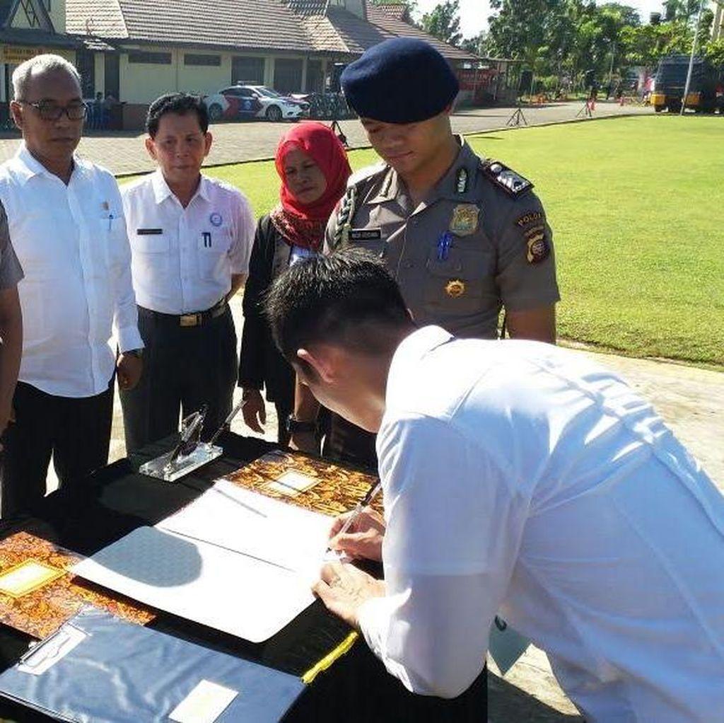Jangan Percaya Apabila Ada yang Bisa Bantu untuk Jadi Polisi di Kalbar!