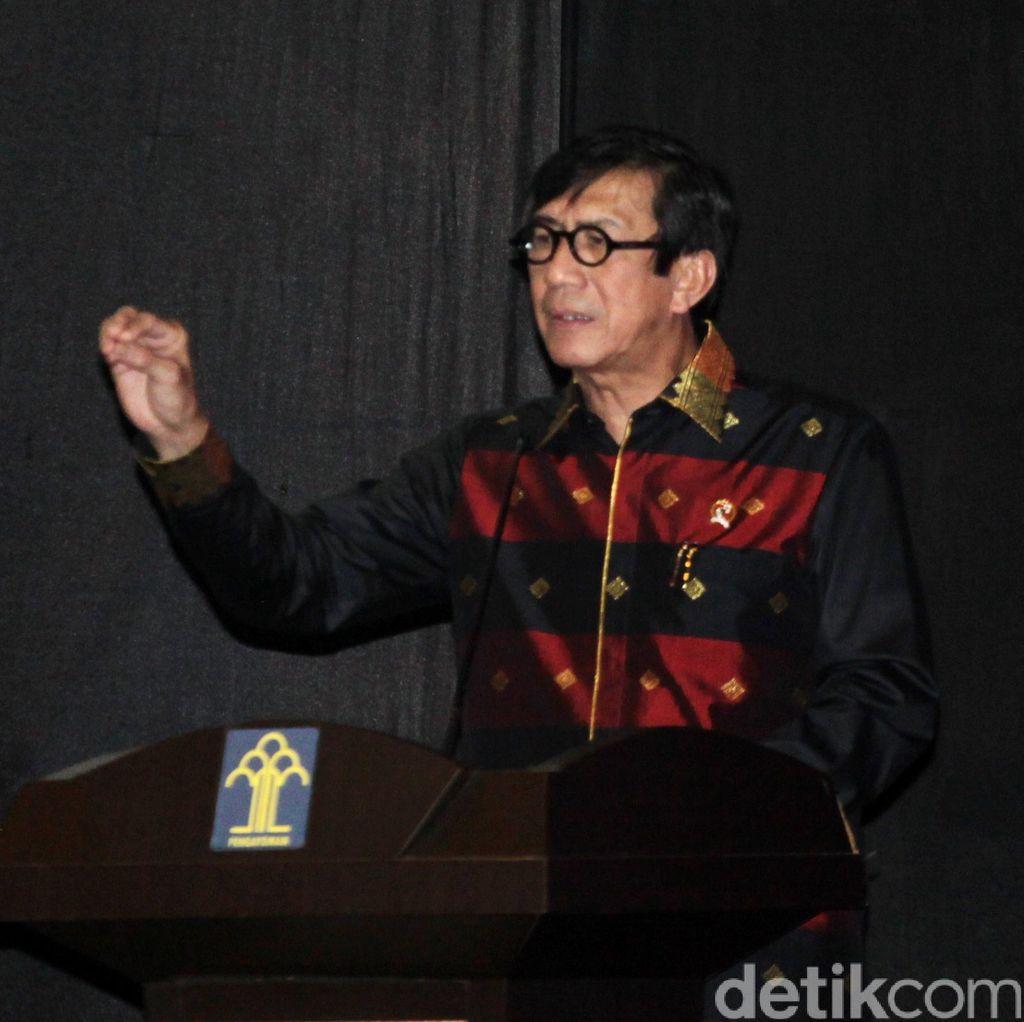Menteri Yasonna: Napi Anarkis di Lapas Gorontalo Perlu Ditindak