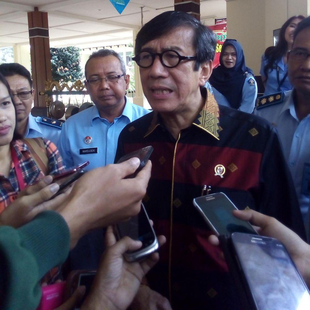 Menkum HAM Ingin Rekrut Pensiunan Bintara TNI Jadi Sipir Lapas