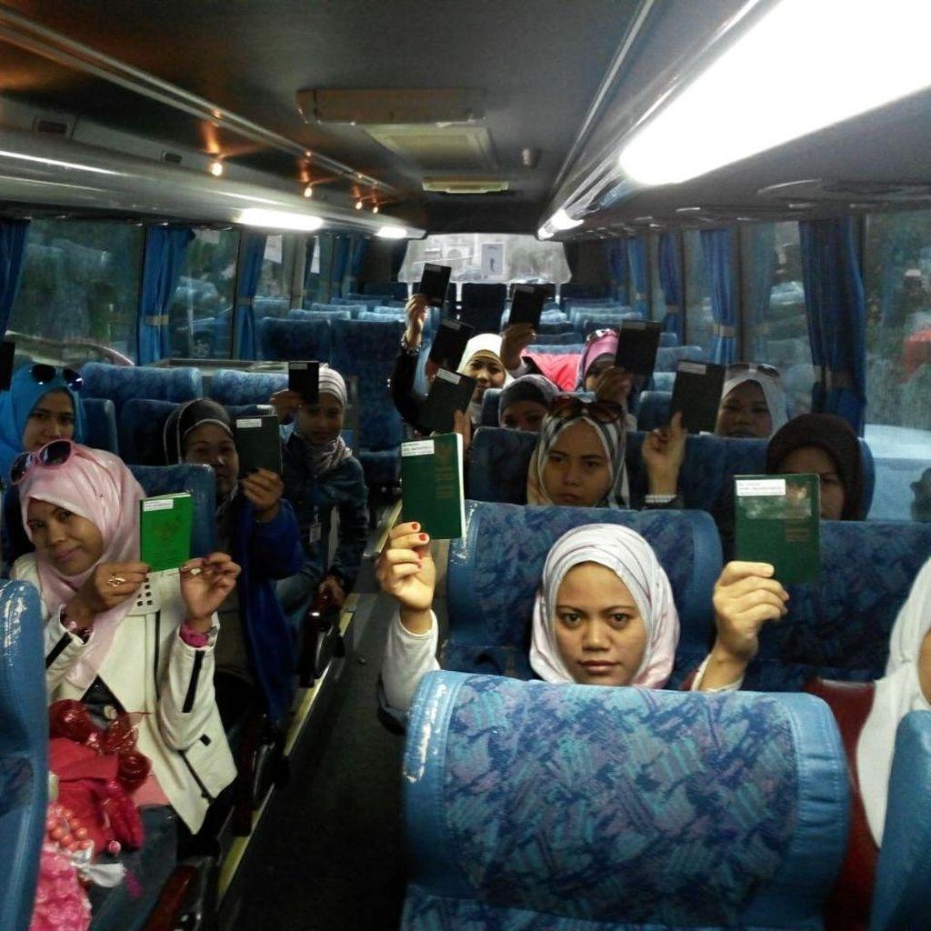 Allepo Memanas, 15 TKW Dipulangkan dari Suriah