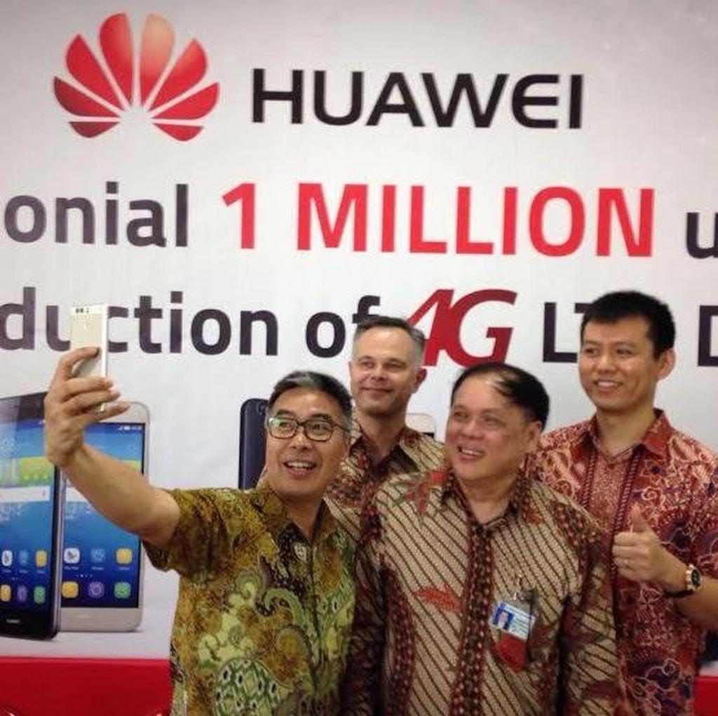 Kejar TKDN, Huawei Rakit Ponsel 4G di Sidoarjo