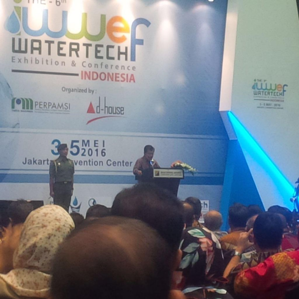 JK: Rumah Warga Kurang Mampu Harus Diberi Sambungan Air Minum