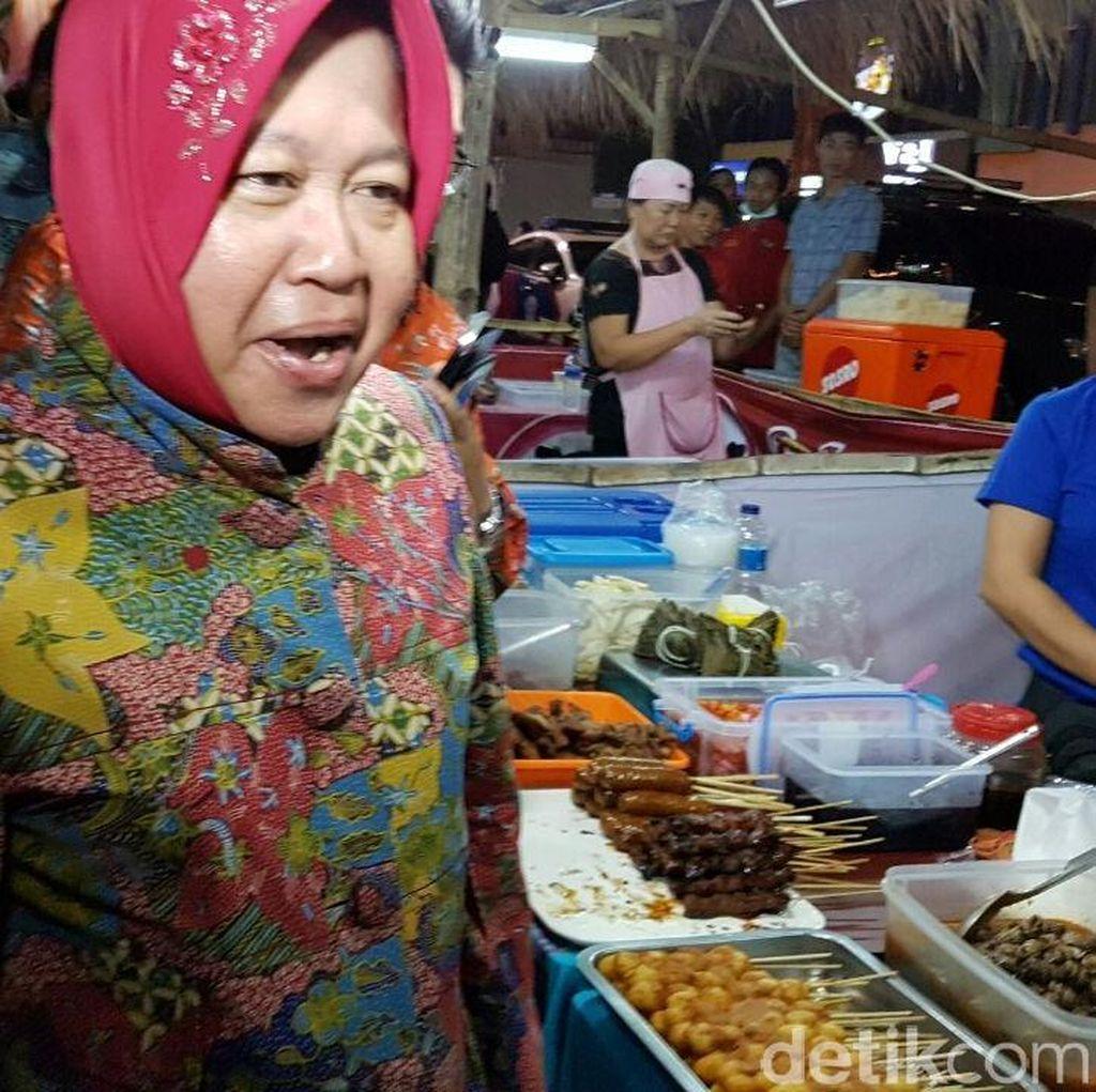 HUT Kota Surabaya, Risma Pamer Jembatan Baru dan Air Mancur Menari