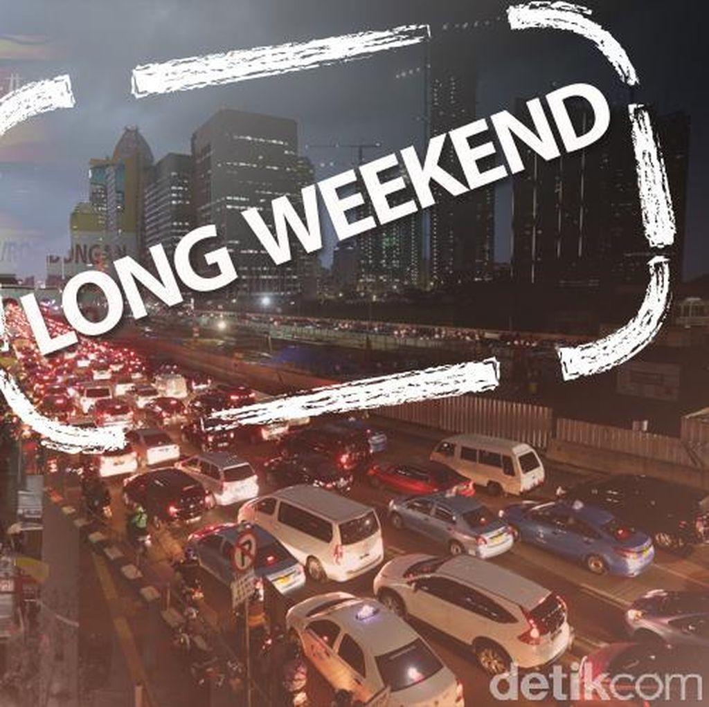 Long Weekend Hari Kedua: Tol Cikampek Lancar, Jagorawi Arah Puncak Padat