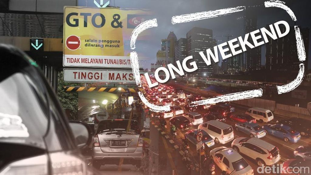 Antrean Kendaraan Sepanjang 2 Km Terlihat di Beberapa Titik Jakarta