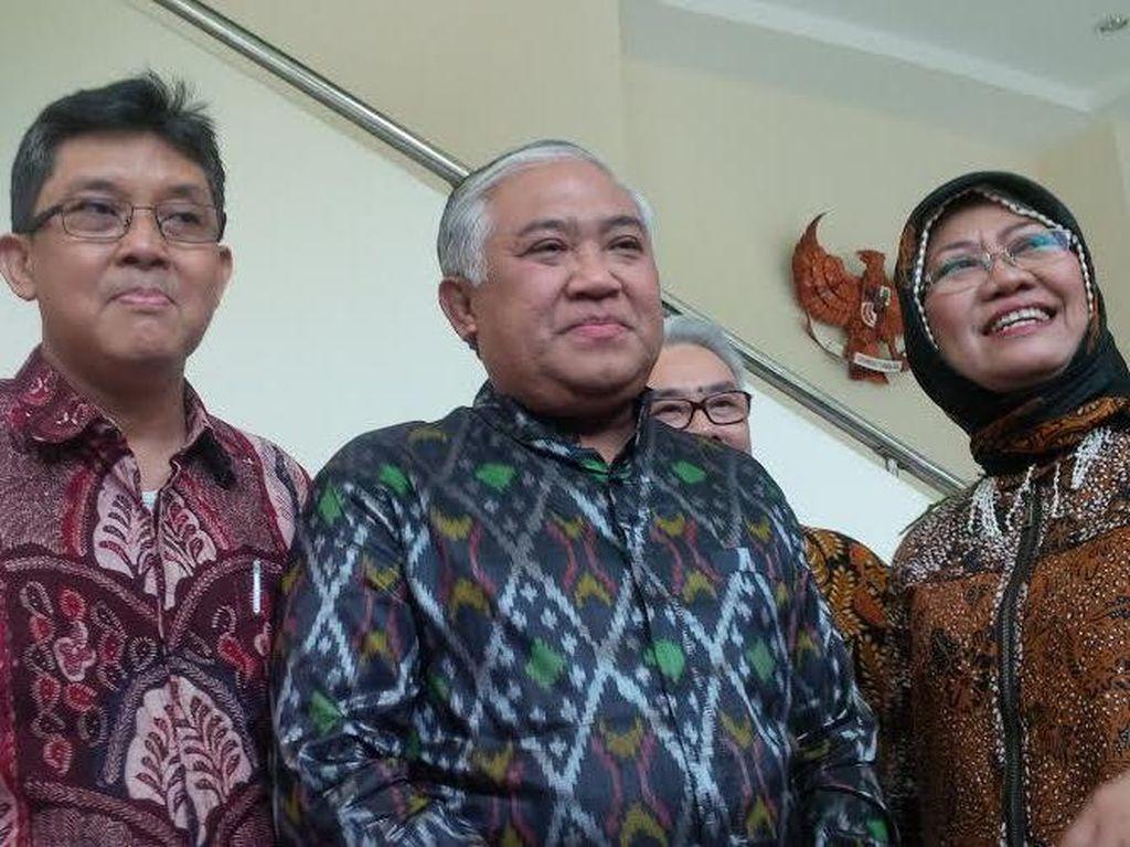 Temui JK, Din Syamsuddin Kenalkan Pergerakan Indonesia Maju