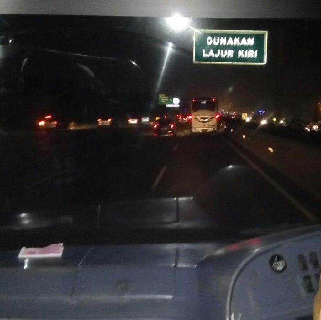 Yang ke Bandung Jangan Patah Semangat, Lalin Lancar Setelah GT Cikarang Utama