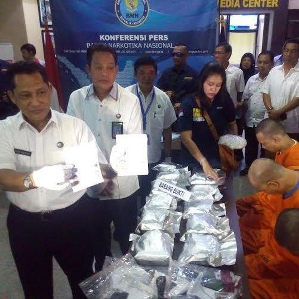 BNN Amankan 12 Kg Sabu di Pluit, 4 Orang Ditangkap