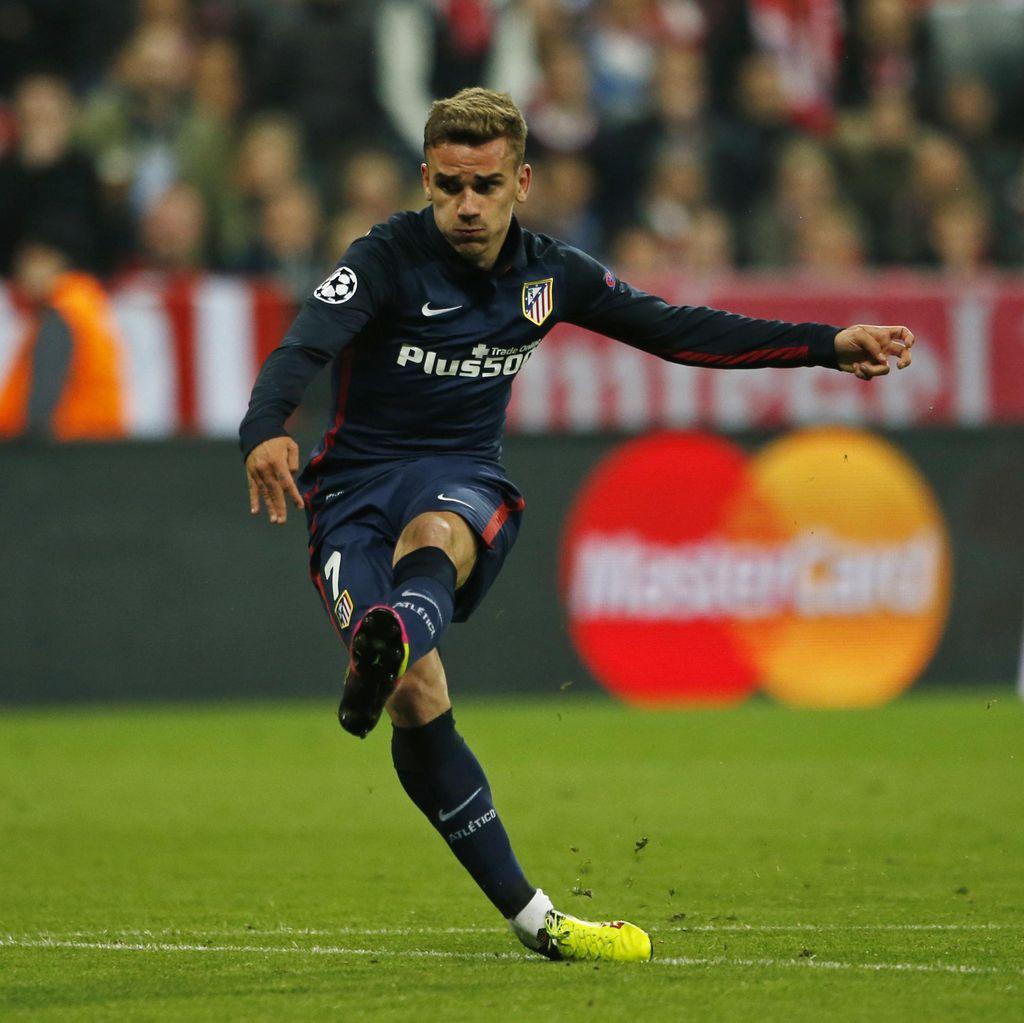 Griezmann: Atletico Bisa Gagal di Liga kalau Pikirkan Final Liga Champions