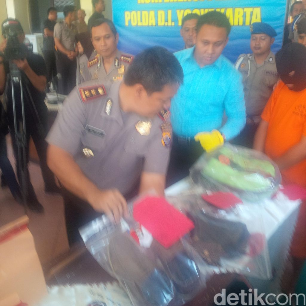 Penampakan Tas hingga Motor Milik Feby yang Disita Polisi dari Tersangka Eko