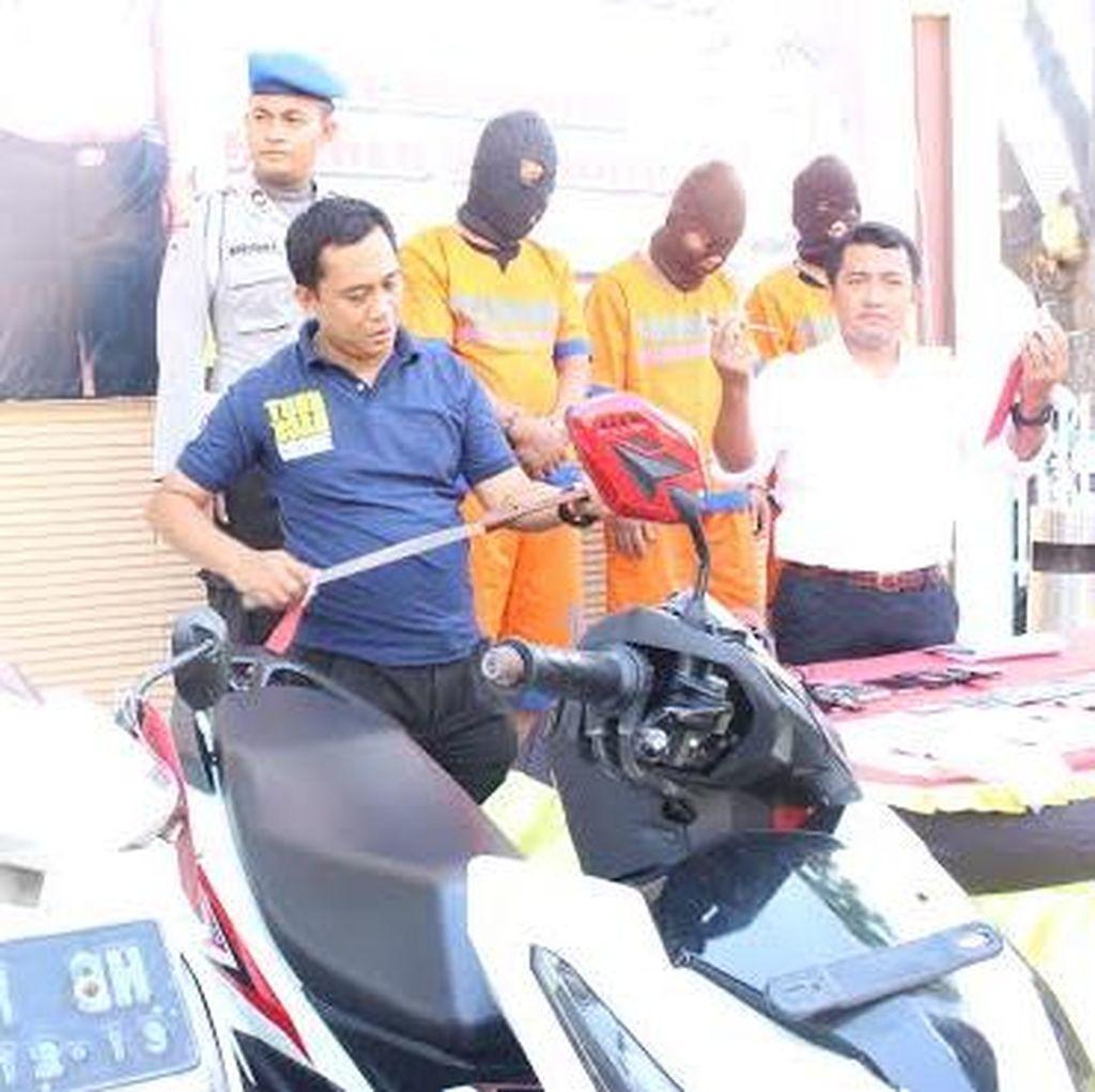 Spesialis Pencuri Motor di Masjid Berhasil Dibekuk