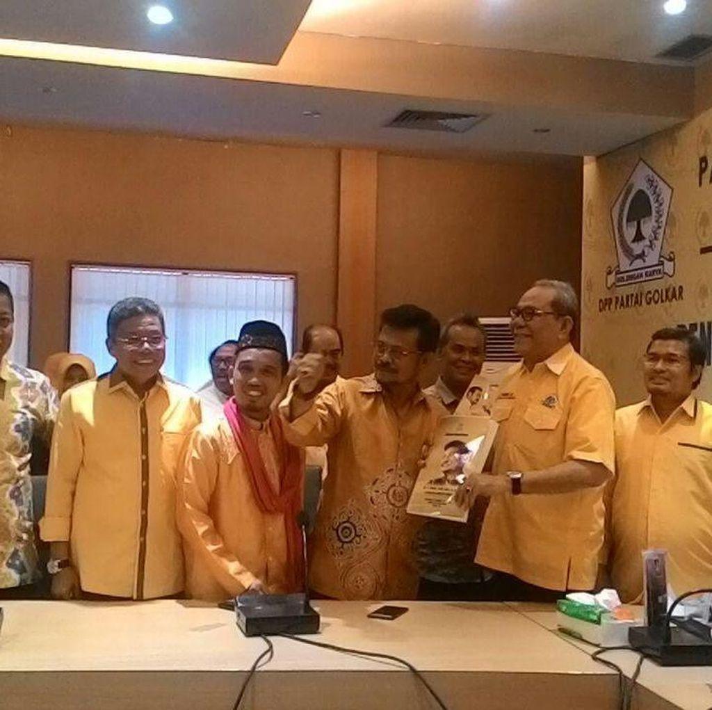 Tak Mau Bayar Rp 1 M, Syahrul Yasin Limpo Tetap Daftar Caketum Golkar
