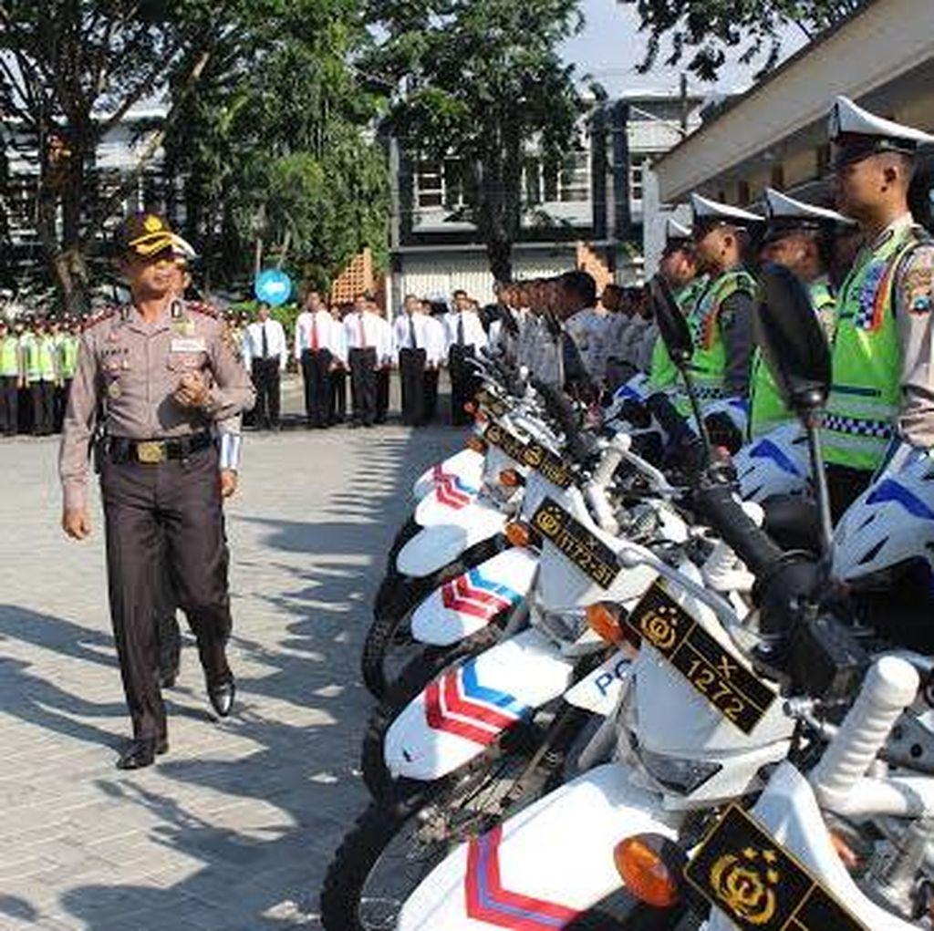 600 Personel Diterjunkan Amankan Libur Panjang Isra Miraj dan Kenaikan Isa Al Masih