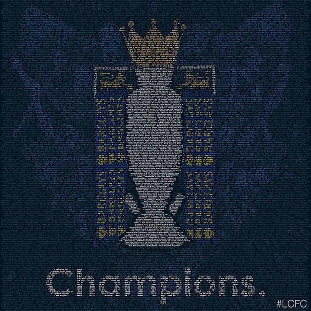 Riuhnya Twitter Merayakan Kemenangan Leicester