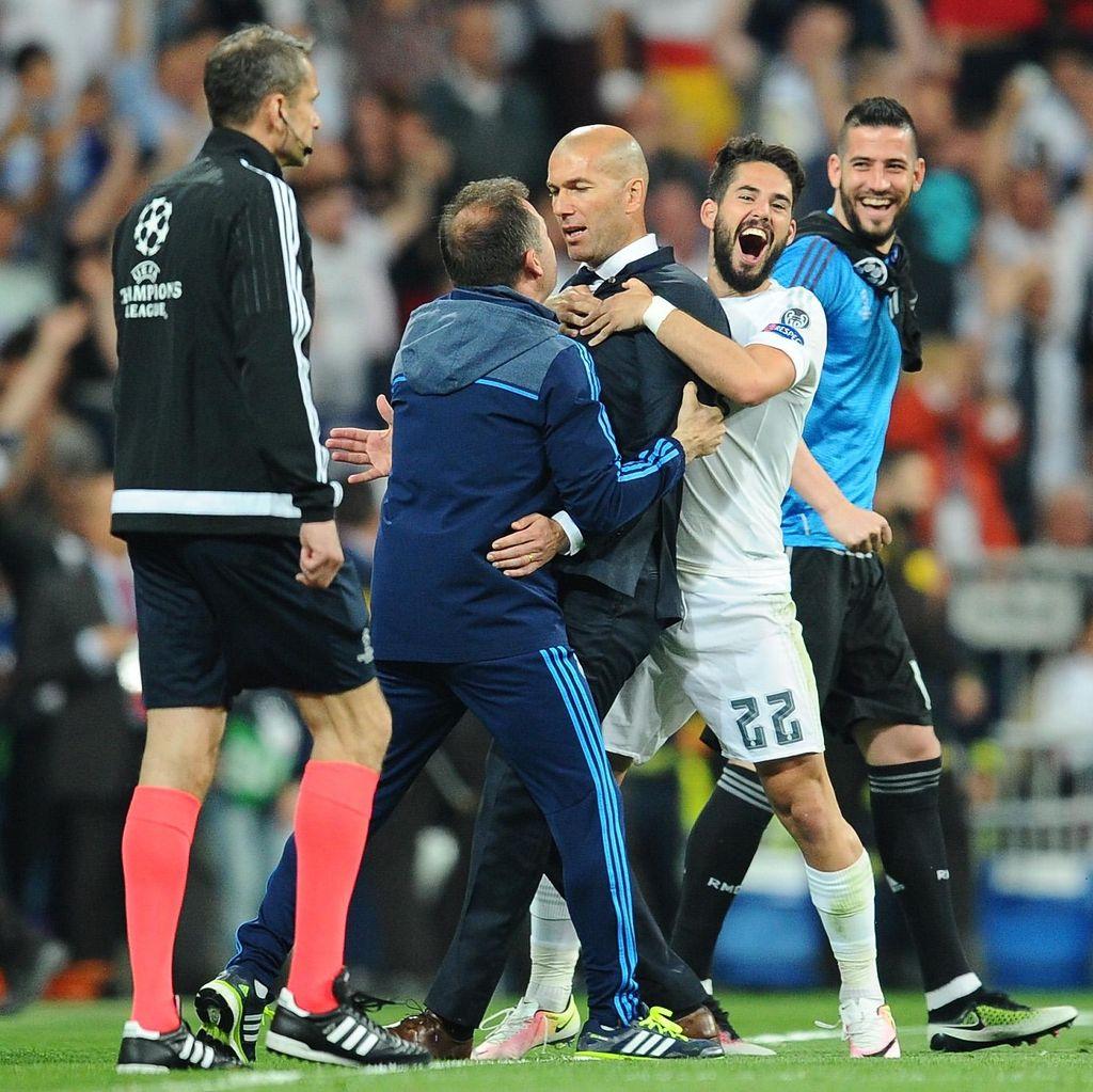Zidane: Pencapaian yang Layak Didapat Oleh Para Pemain Madrid