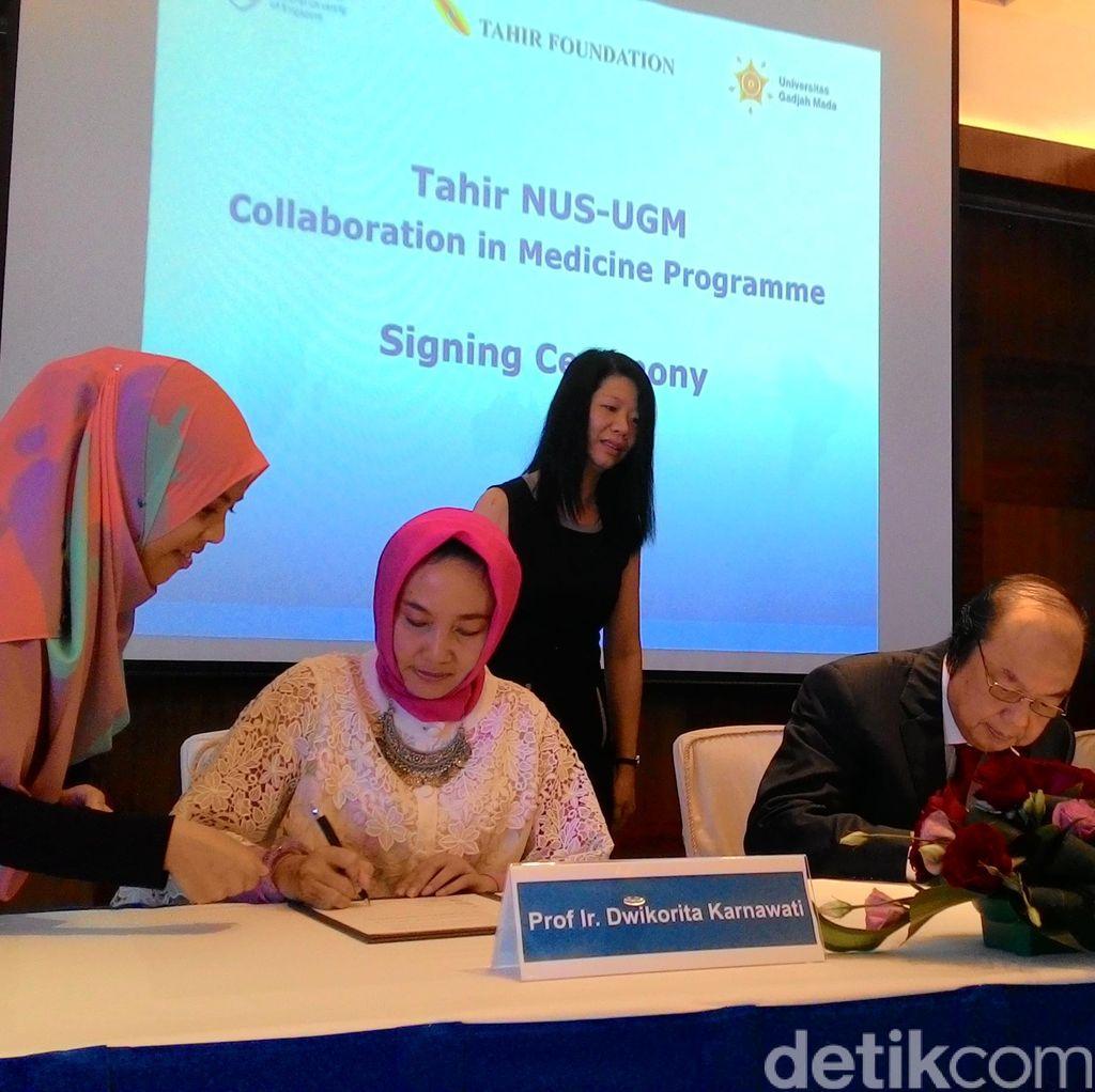 Kerja Sama dengan NUS, Calon Dokter UGM Berpeluang Mampir ke Singapura