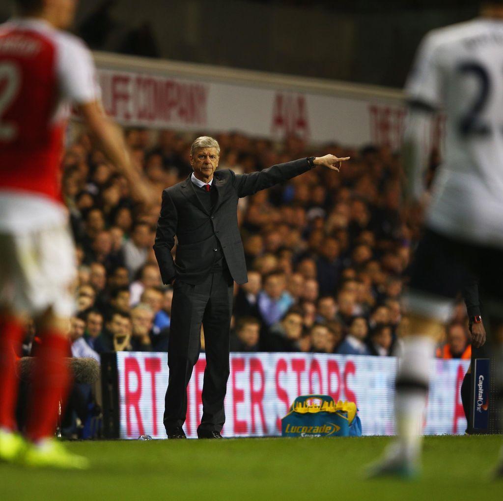 Seandainya Spurs Finis di Atas Arsenal, Wenger: Itu Hanya Sesekali Saja