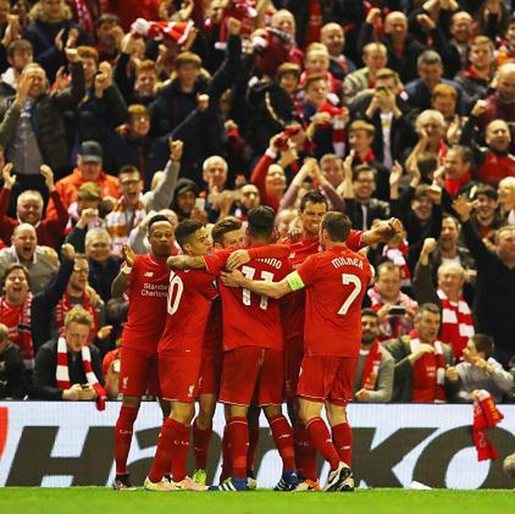 Hantam Villarreal, Liverpool Melaju ke Final