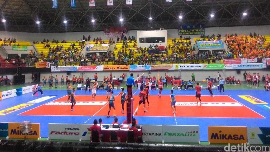 Menang 3-0 atas Pertamina Energi, Putra BNI Taplus Juara Final Four