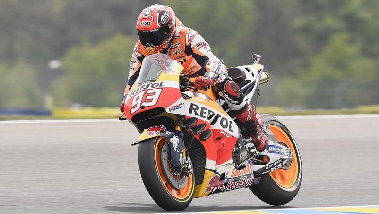 Honda Perpanjang Kontrak Marquez Hingga 2018