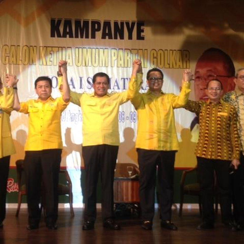 Novanto Beri Kursi untuk 6 Eks Caketum Golkar, kecuali Syahrul Limpo