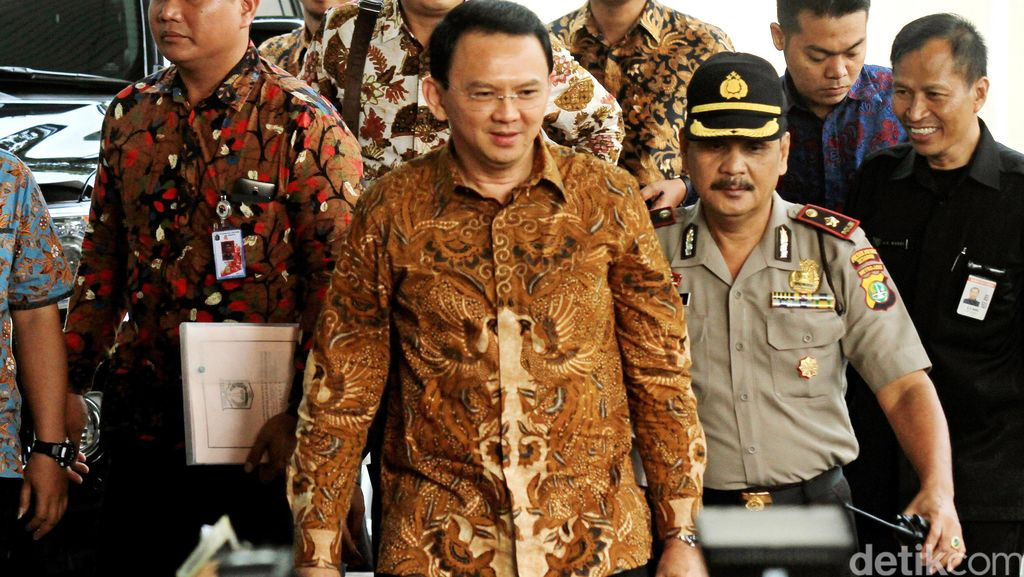 Sambangi Jokowi di Istana, Ahok Mengaku Bahas Kemelut Harga Daging dan Sembako