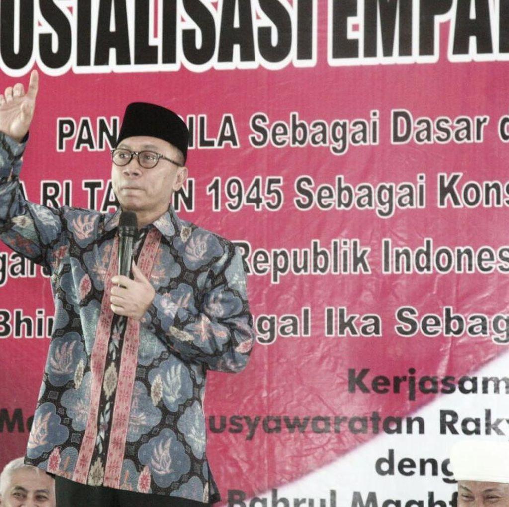 Ketua MPR: Musuh Utama Kita Kesenjangan Sosial, Bukan Bangkitnya Komunisme