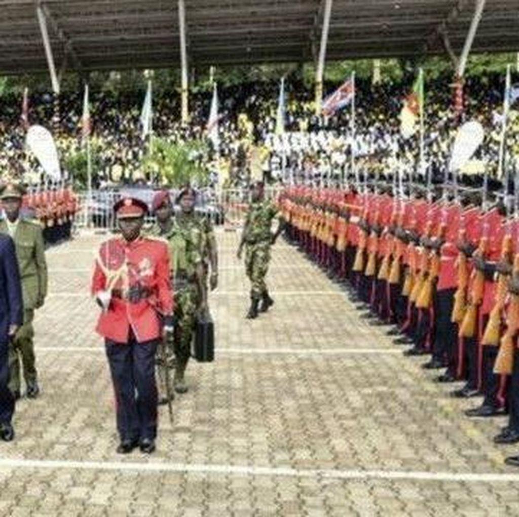 Protes Kehadiran Buronan ICC, Para Diplomat Pergi Saat Pelantikan Presiden Uganda