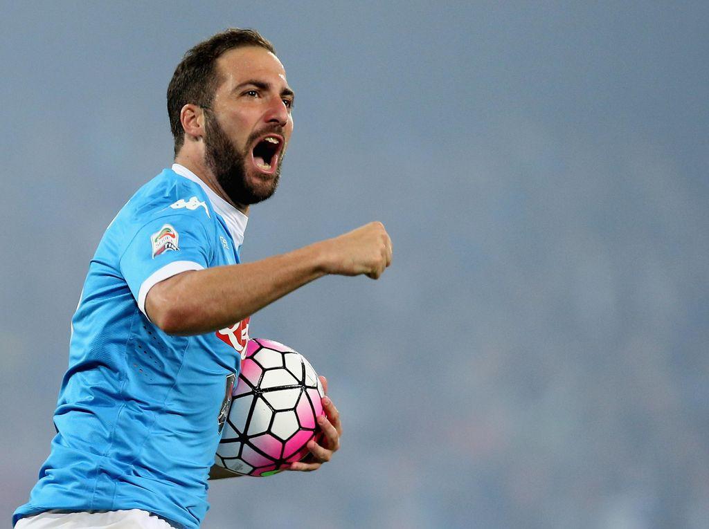 Juventus Resmi Dapatkan Higuain