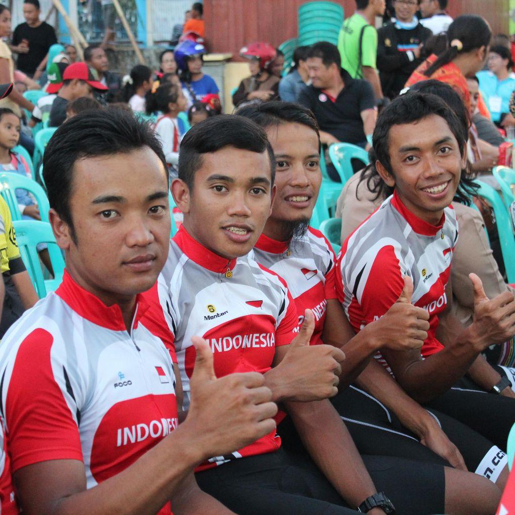 19 Tim Lokal dan Asing Ramaikan Tour de Jakarta