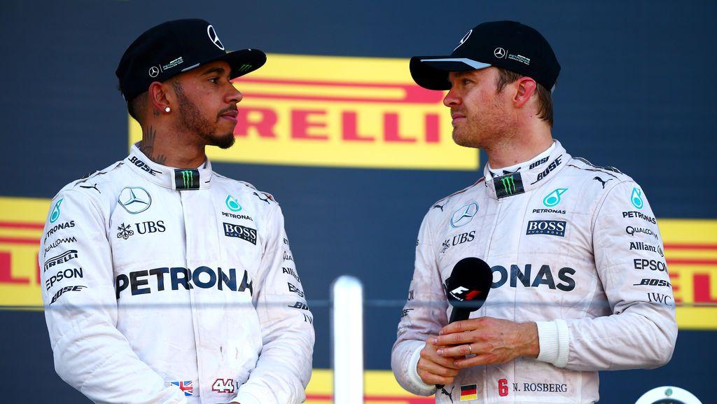 Mercedes Kini Tinggal Kawal Persaingan Rosberg-Hamilton