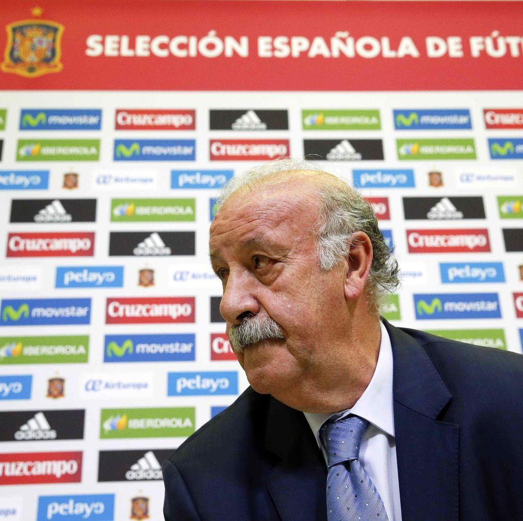 Del Bosque: Spanyol Tak Bisa Maksimalkan Keunggulan Pemain