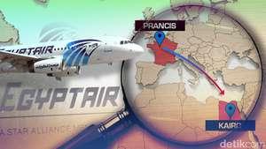EgyptAir Jatuh di Laut Mediterania
