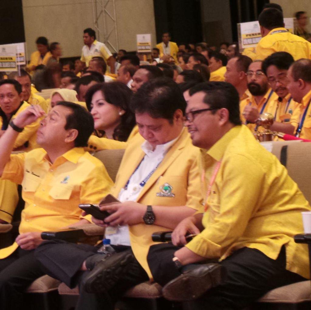 Tak Mau Intervensi, Akom: Penyusunan Pengurus Golkar Urusan Novanto