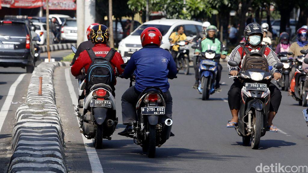 Awas! Jangan Pakai Motor Bodong di Bogor, Ini Sanksinya
