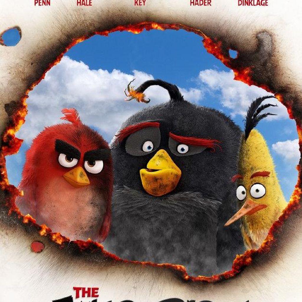 Angry Birds Masuk Daftar Film Adaptasi Game Paling Menguntungkan