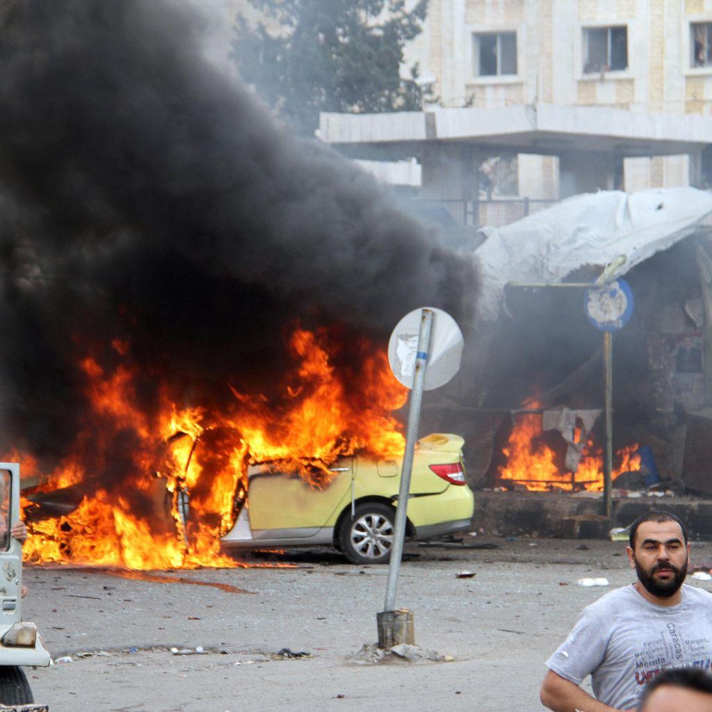44 Orang Tewas Akibat Serangan Bom ISIS di Suriah