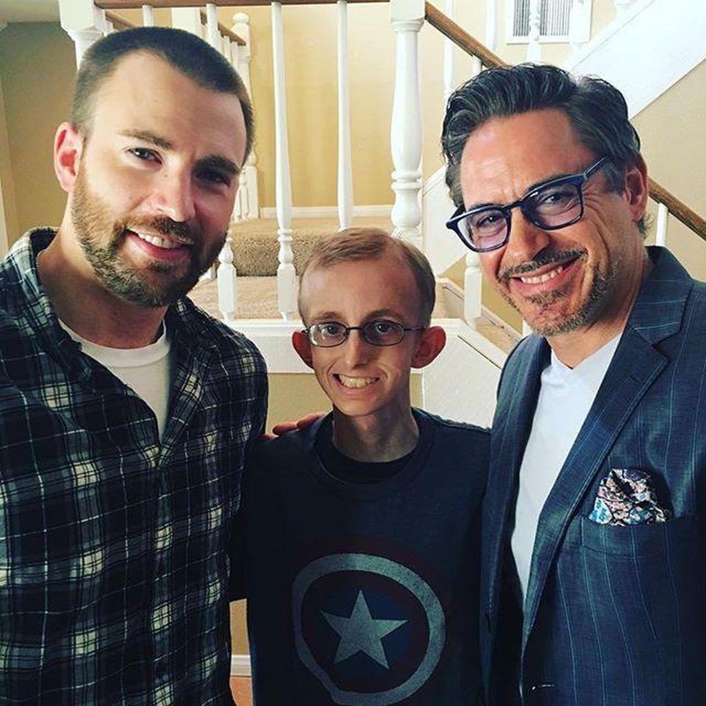 Gwyneth Paltrow Pertemukan Pasien Kanker dengan Iron Man-Captain America