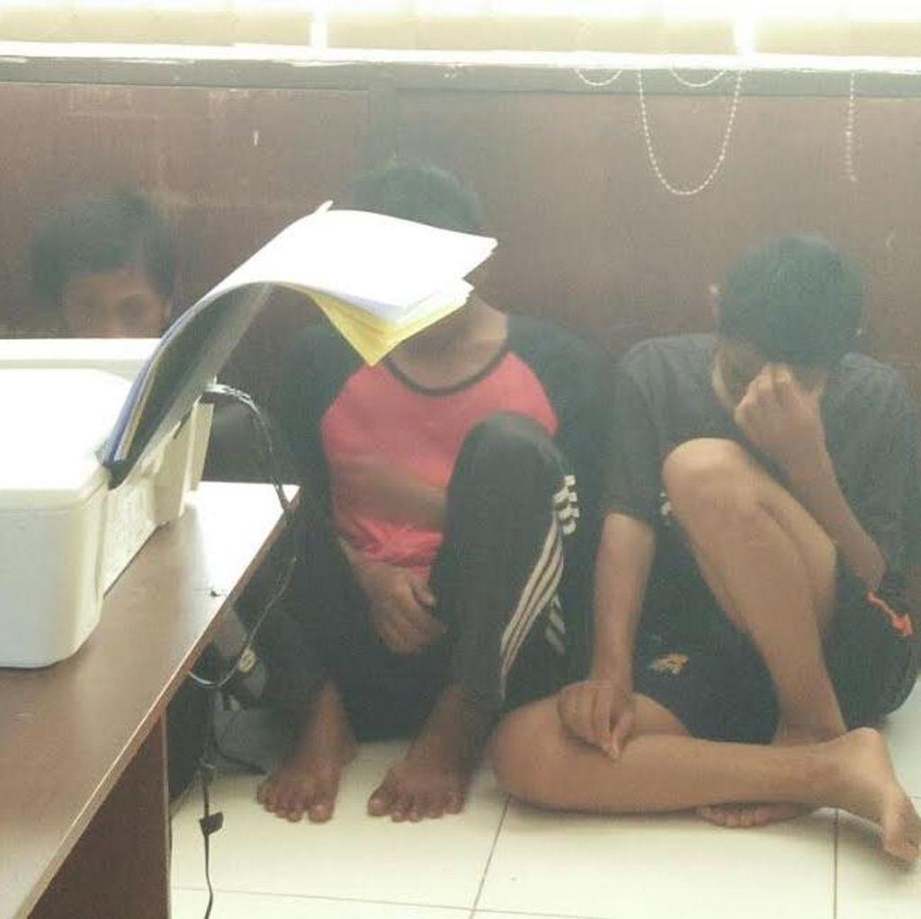 Polsek Gerebek Pesta Seks Siswa SMP di Makassar