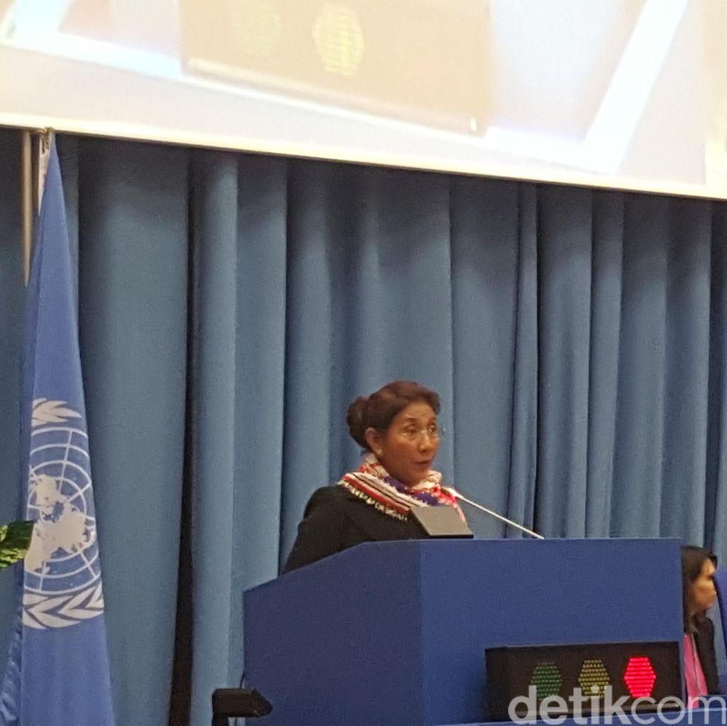 Menteri Susi Minta Dunia Internasional Serius Tangani Kejahatan Perikanan