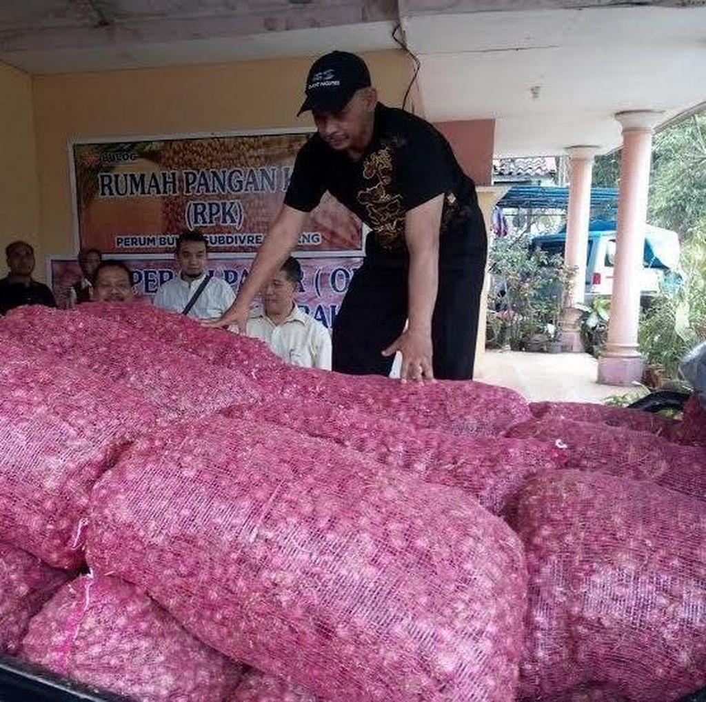 Tekan Harga di Bawah Rp 30.000/Kg, Bulog Gelontorkan 6 Ton Bawang Merah di Jatim