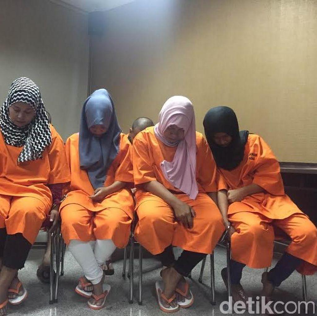 Simpan Sabu di Kerudung dan Celana Dalam, 4 Wanita Ditangkap BNN
