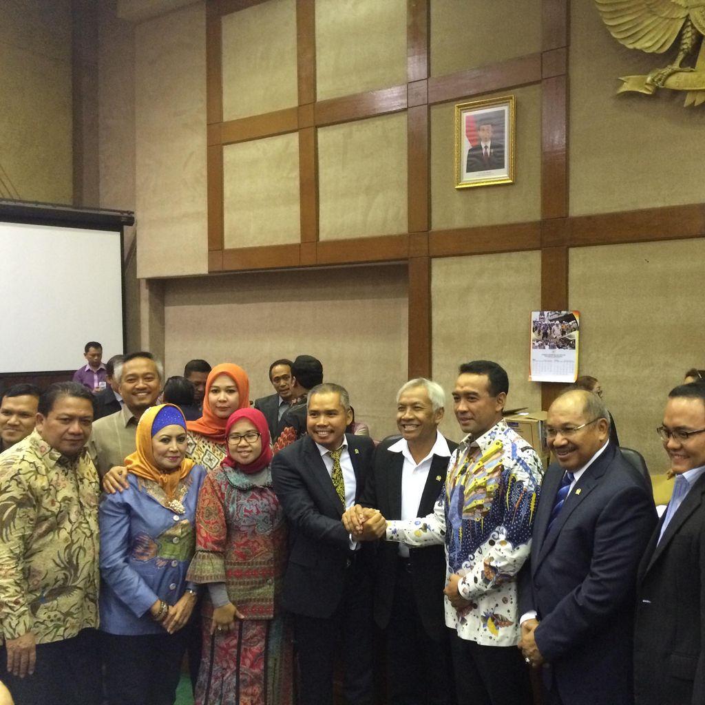 Rotasi Fraksi PAN, Teguh Juwarno Dilantik Jadi Ketua Komisi VI DPR