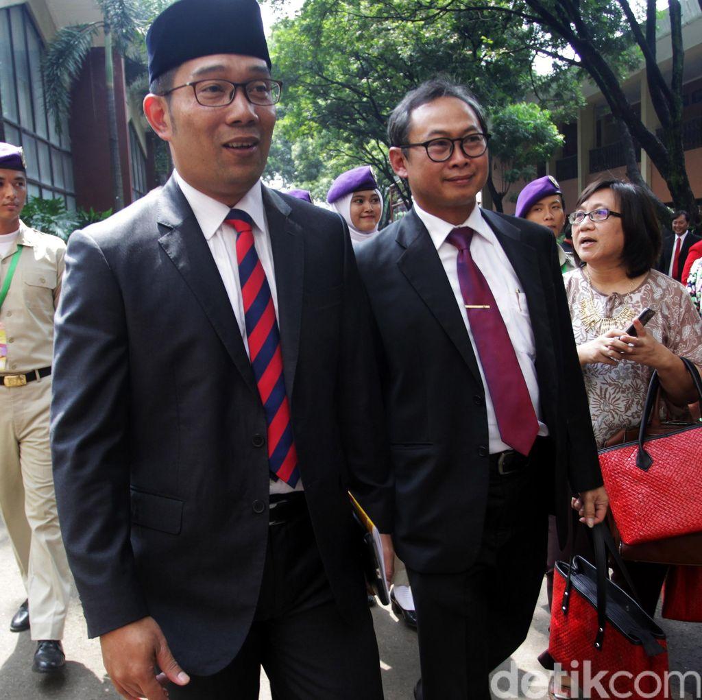 Ridwan Kamil Ancam Sanksi Kepsek yang Gelar Pesta Perpisahan di Tempat Mewah