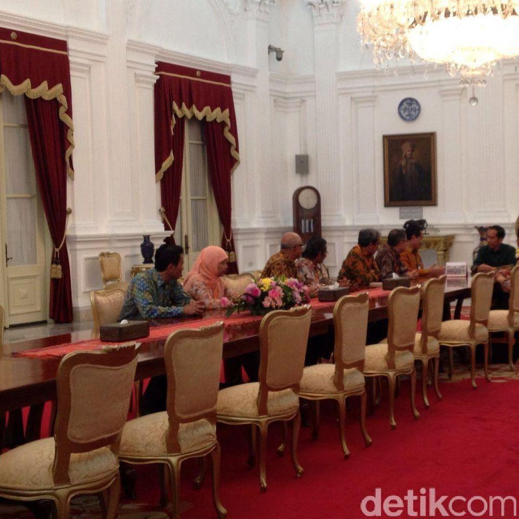 Jokowi Disensus BPS di Istana Negara